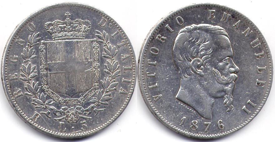Монета италии денга 1758