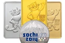Олимпийские монеты талисманы
