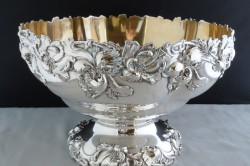 Антикварная серебряная ваза