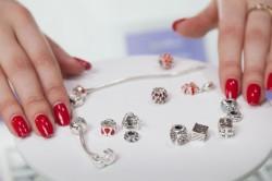 Декоративный наборный браслет