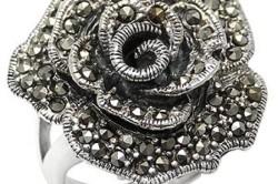 Кольцо из марказита