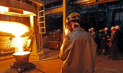Работа на заводе цветных металлов