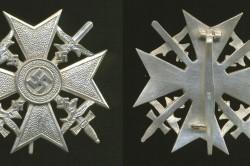 Испанский серебряный крест