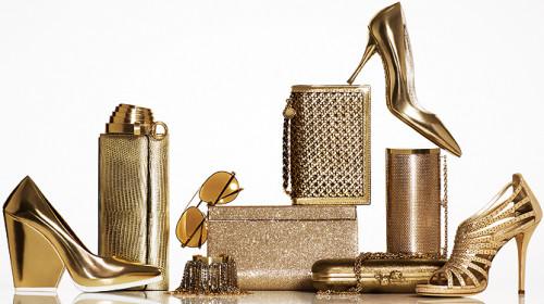 Позолоченные аксессуары предметы недорогой роскоши