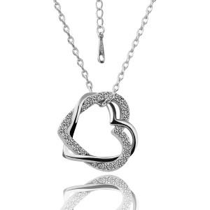 Серебряное ожерелье
