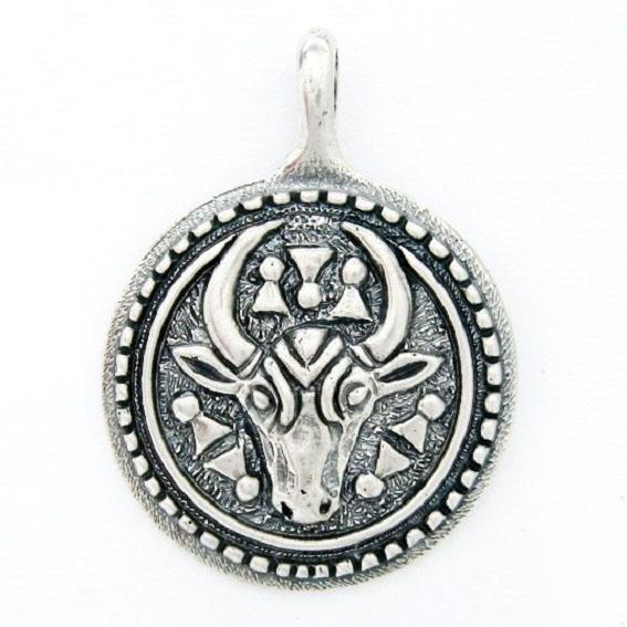 Славянский оберег из серебра