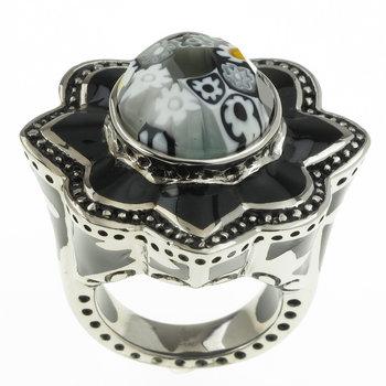 Серебряное кольцо дизайнера Alan K