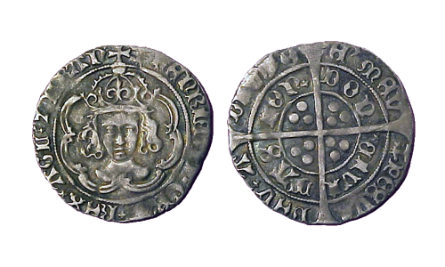Гроут короля Генриха VII 1485 года