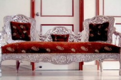 Антикварная мебель с использованием серебра