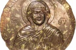 """Медальон """"Богоматерь Оранта"""" (Византия)."""