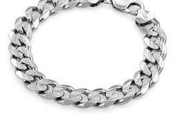 Браслет из серебра | Подарки для мужчин-браслет