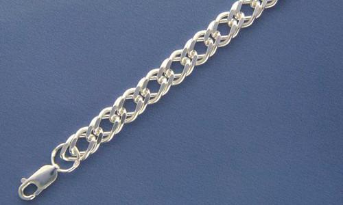 Серебряные цепочки браслеты для мужчин