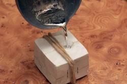 Правильно расплавленное серебро должно блестеть