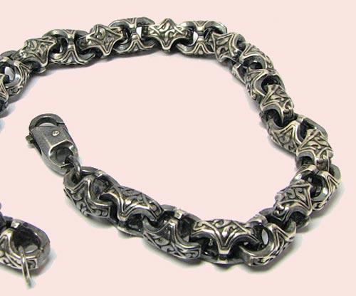 Цепочки серебряные мужские минск
