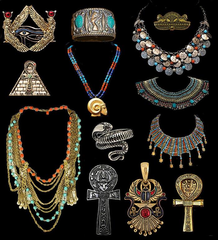 Украшения древних египтян