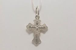 Крестик из серебра для детей