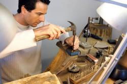 Изготовление изделий из серебра