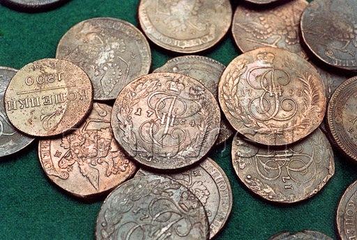 Чистка монет