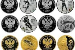 Юбилейные монеты Сбербанка, посвященные Олимпийским играм