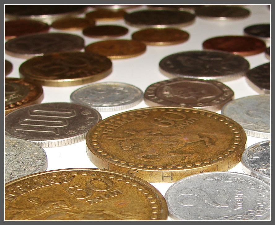 Монеты, которые принимает Сбербанк