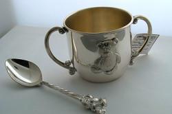 Детский набор из серебра
