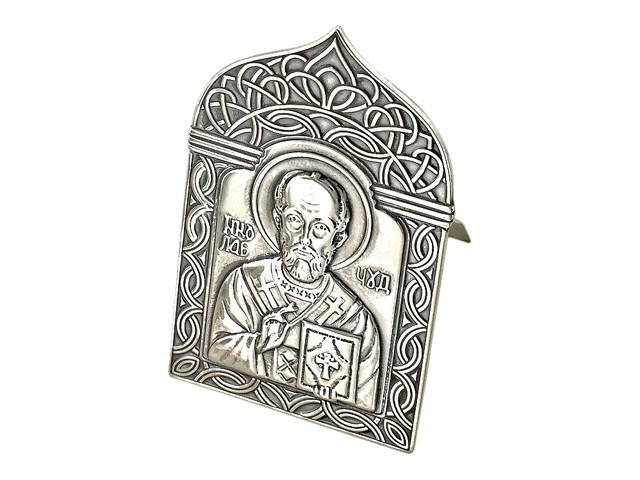 Настольная серебряная икона