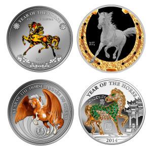 Новогодние монеты Сбербанка