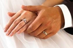 Обручальные кольца с феанитом
