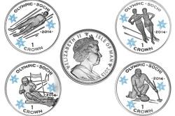 Памятные монеты острова Мэн