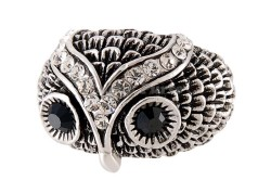 Оригинальное кольцо из черненого серебра