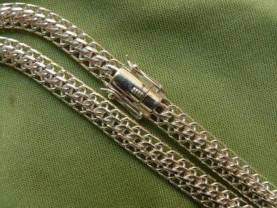 Цепь с панцирным плетением