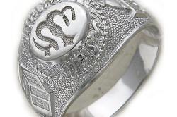 Серебряная печатка из серебра