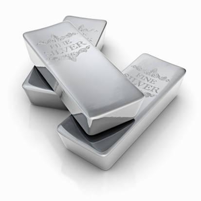 Плитки серебра.