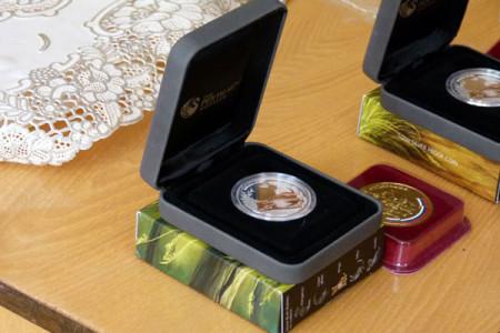 Подарочные монеты Сбербанка