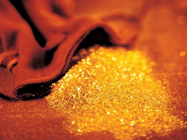Золотой порошок