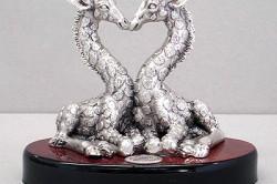 Изделия из серебра ручной работы.