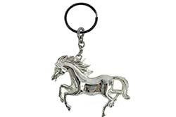 Серебряный брелок лошадь