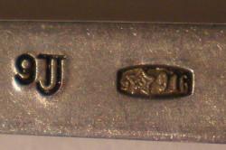Серебро 916 пробы служит для производства столовых приборов.