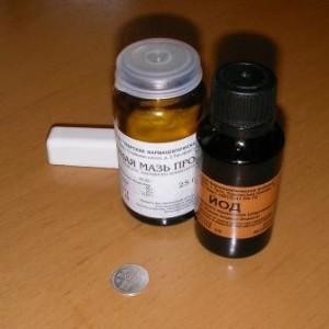 Йод - средство для проверки серебра на подлинность