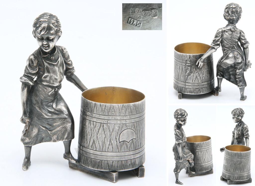 Определение серебра в домашних условиях.