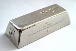 серебряные слитки в индексном фонде
