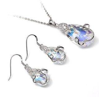 Ювелирные изделия с кристаллами Swarovski