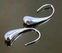 Серьги из серебра от ювелиров Tiffany