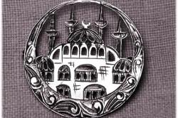 Украшение из турецкого серебра