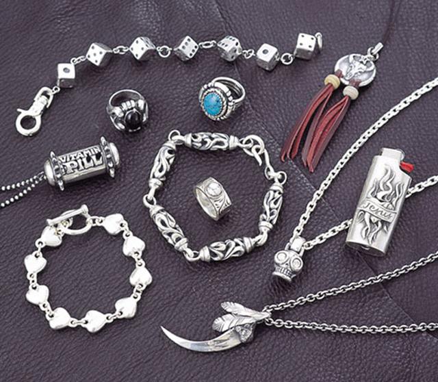 Украшения из серебря