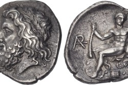 Первая олимпийская монета.