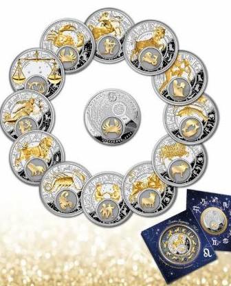 турецкие монеты со знаком зодиака
