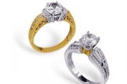 Сочетание золота и серебра