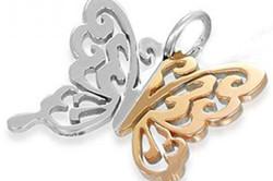 Комбинация металлов в украшении