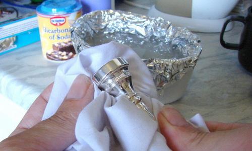 Чистка серебра
